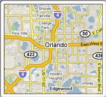 Orlando Metro Map.Metro Ethernet Broadband Service Providers In Orlando